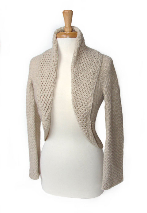 Scallop Edge Bolero