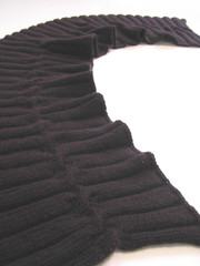 Lavishribcablescarf