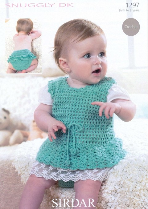 Knitting Pattern Baby Girl Pinafore : PATTERNFISH - the online pattern store