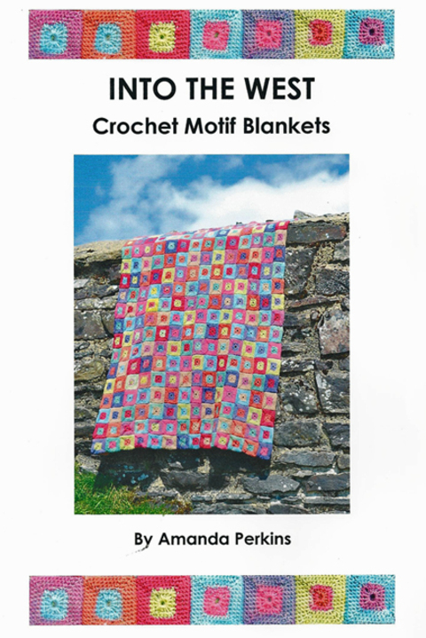 Book Cover Crochet Quilt Pattern : Patternfish the online pattern store