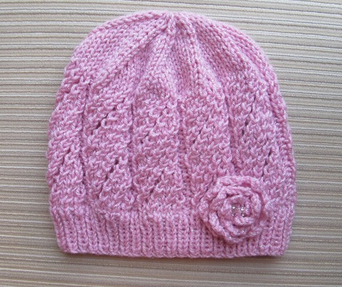 Pink_Hat_in_Eyelet_Panels_and_Knit_Rose_for_a_Lady_2.jpg
