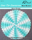 Cake-top-confection-baby-blanket-cover